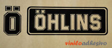 PEGATINA STICKER VINILO Ohlins horquilla motorcycle suspension