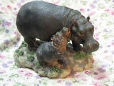 New Hippopotamus Hippo Westland Mom & Baby Figure