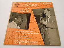 THE COUNT AND PREZ EP  1568 COVER  VG+++FR  45 vinyl abt m- /+m-