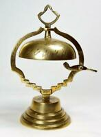 Antique Indian Brass Counter Bell c1920s/30s