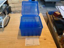 Berry's Plastic Ammo Box, Blue 12 Gauge Shotgun 3 1/2� Free Shipping