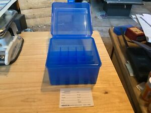 "Berry's Plastic Ammo Box, Blue 12 Gauge Shotgun 3 1/2"" FREE SHIPPING"