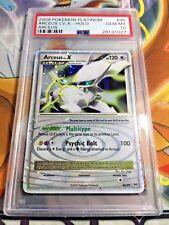 2009 Pokemon TCG Platinum Arceus LV. X Arceus Holo PSA 10 GEM MINT 96/99 LOW POP