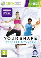 Xbox 360 Your Shape: Fitness Evolved -Kinect- Excellent-1st Class FAST Delivery