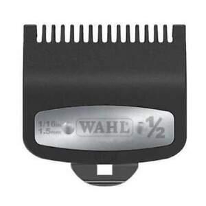 """WAHL Clipper Premium Metal Attachment comb Guide No. #1/2 1.5 mm 1/16"""" Magic"""