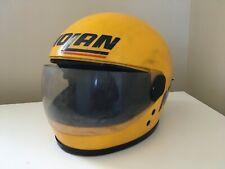 casque moto intégral vintage Nolan années 70s  rétro déco collector années 80