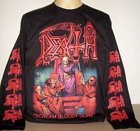 Death Scream Bloody Gore Long Sleeve T-Shirt Size S M L XL 2XL 3XL Metal Band