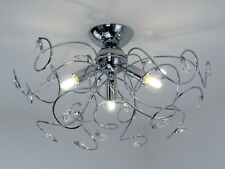 Plafoniere Con Gocce Di Cristallo : Plafoniera cristallo acquisti online su ebay
