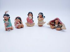 Lot of 5 Enesco Friends of the Feather Figurines See images for names Great Cond