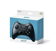 Nintendo Wii U Wireless Pro Controller - BLACK [Nintendo Wii U, Accessory] NEW