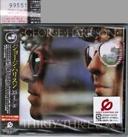 Sealed #PROMO! GEORGE HARRISON 33 1/3 JAPAN CD w/OBI TOCP-67335 Free S&H/PP