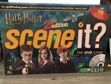 Scene It? Harry Potter 2nd Edition DVD Board Game Complete Game 2007