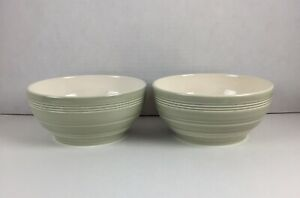 2 Wedgwood JASPER CONRAN Casual Green Bowls
