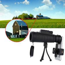 40x60 Outdoor Single Mini HD Monocular Cell Phone Camera Lens Telescope US STOCK