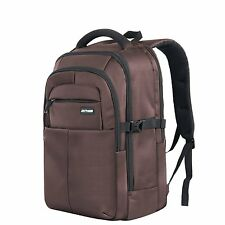 "JOTHIN B725 Laptop Backpack Large Rugged Business Bag up to 17""Computer Brown"