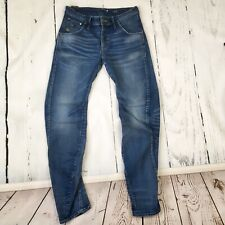 GSTAR JEANS ARC 3D Slim TAPERED LEG RAW DENIM 30 Waist 32 Length  G-STAR ITALY