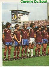 014 TEAM EQUIPE SERVETTE GENEVE VIGNETTE STICKER FOOTBALL 1980 BENJAMIN RARE NEW