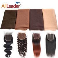 1/2 Yard Swiss Lace Net Toupee Flesh Tone For Lace Frontal Closure Wig Making