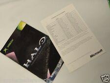 Halo Combat Evolved Manual Black Label Original Microsoft Xbox Video Game System