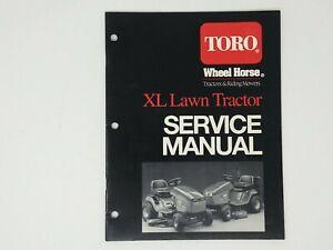 TORO XL 71140 71180 71181 RIDING MOWER LAWN TRACTOR SERVICE MANUAL