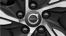 Genuine Volvo Dark Grey Wheel Center Cap Set OE OEM 31414935