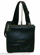BORSA MOMODESIGN BORSELLO IN PELLE STEEL TRACOLLINA  BODYBAG UOMO MEN  1202 NERO