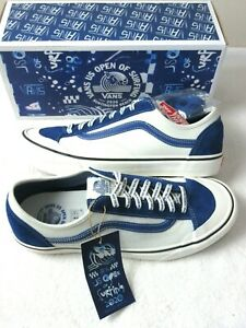 Vans Mens Style 36 Decon SF US Open of Surfing 2020 shoes Blue White Size 11.5