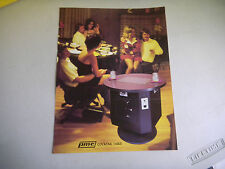 COCKTAIL TABLE  FOLDED    PMC     ARCADE GAME  FLYER