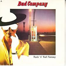 BAD COMPANY  Rock 'N' Roll Fantasy PICTURE SLEEVE 45 record + juke box strip NEW