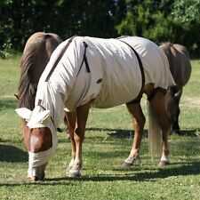 ELDORADO Ekzemerdecke - beige - 135 cm Decke für Pferde mit Ekzem Pferdedecken