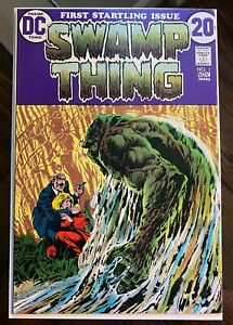 Swamp Thing #1 1st Issue in Series - Origin - Bernie Wrightson Cover - Very Fine