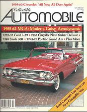 Collectible Automobile Magazine April 1988 Vol 4 - No 6