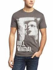 Short Sleeve Graphic Tee Rock T-Shirts for Men