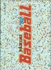 Cartes de baseball, saison 1992