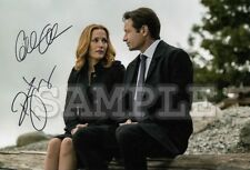 X-files signed cast 5x7 Autograph Photo RP - Free Shipping!! 2018 tv Series