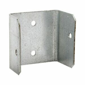 GALVANISED FENCE / TRELLIS PANEL BRACKET CLIPS - 32mm 38mm 44mm 50mm GALV CLIP