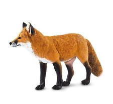 "SAFARI LTD RED FOX TOY #100361 WILDLIFE WONDERS COLLECTION BRAND NEW 7"" LONG"