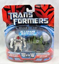 Transformers 2007 Movie Allspark Battles Rescue Ratchet Vs Brawl MOSC