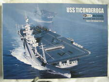 1:200 US WWII aircraft carrier USS Ticonderoga (CV-14)  paper model