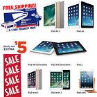 iPad Air, mini, 2, 3 or 4th Gen 16GB 32GB 64GB 128GB Pro-Refurbished WiFi Tablet