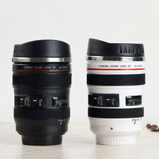 Camera Lens Novelty Coffee Mug Gift For Lover Stainless Steel Insulated Cretive