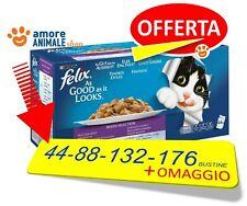 Felix Le Ghiottonerie Multipack  44 FINO 176 Bustine da 100 gr Umido per Gatto