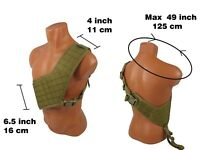 Vest Modular paintball coyote brown tactical airsoft chest rig molle bandolier