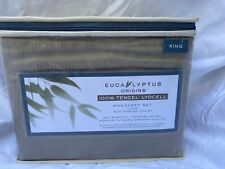 New Canvas Eucalyptus Sheet Set King Size 500 Thread Count