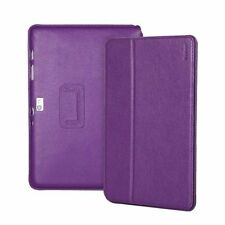 "Yobao Executive Real Leather Case for Samsung Galaxy Note 10.1""  Purple"