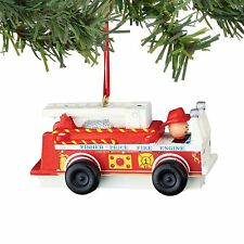 Department 56 Fisher Price Fire Truck Ornament (4045025)