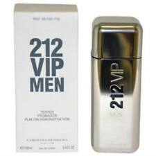 212 VIP By Carolina Herrera 3.4 Oz EDT Spray New Tester Cologne For Men With Cap