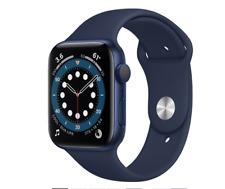 Apple Watch Series 6 (GPS, 44mm) - Blue Aluminum Case with Deep Navy Sport Band