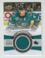 (71142) 2015-16 UPPER DECK GAME JERSEY JOE PAVELSKI #GJ-JP