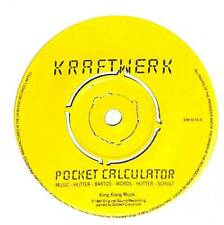 "Kraftwerk - Pocket Calculator - 7"" Vinyl Record Single"